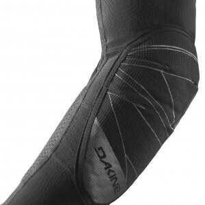 Dakine Slayer Elbow Pad Pre-curved ergonomic patterning for enhanced fit