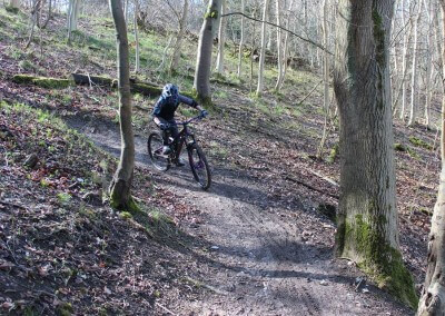 MTB Instruction 100% Goggles Dakine Flow MTB Aston Hill