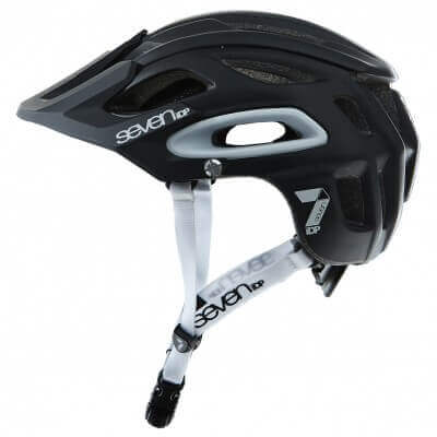 Seven iDP Enduro Helmet Matt Black Side