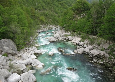 Slovenia Ladies MTB Day 2 River Soca