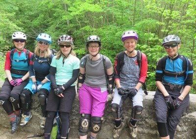 Slovenia Ladies MTB Day 2 Riva Soca Group Shot