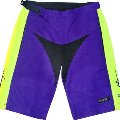 Flare Women's MTB Downhill Shorts Roost in Purple - Front