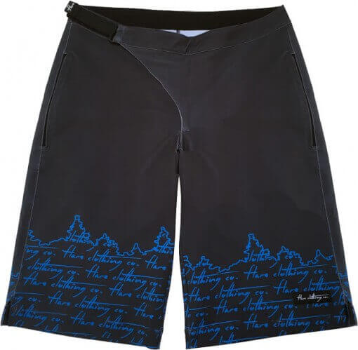 Flare Women's MTB Enduro Shorts Stage in Black - Front