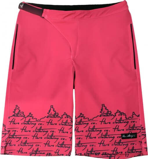 Flare Women's MTB Enduro Shorts Stage in Pink - Front