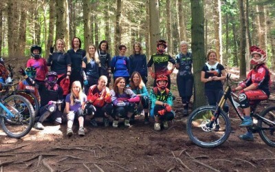 Ladies Downhill at Forest of Dean