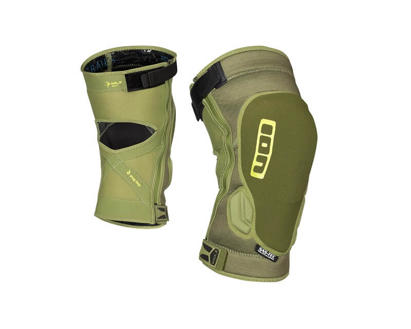 ION Knee Lite Zip Olive