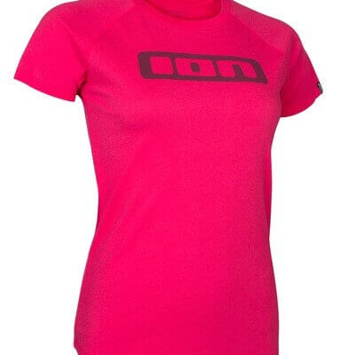 ION womens short sleeve tee sunset pink