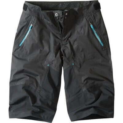 Madison Flo Womens MTB Waterproof Shorts Black