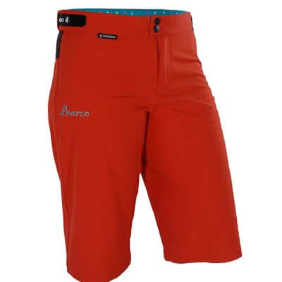DHaRCO Ladies MTB Gravity Shorts - Poppy Red
