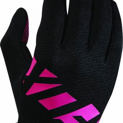 Fox women's MTB cycling gloves - Ripley gloves black and fuschia