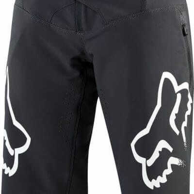 Fox women's MTB Flexair DH short Black and White