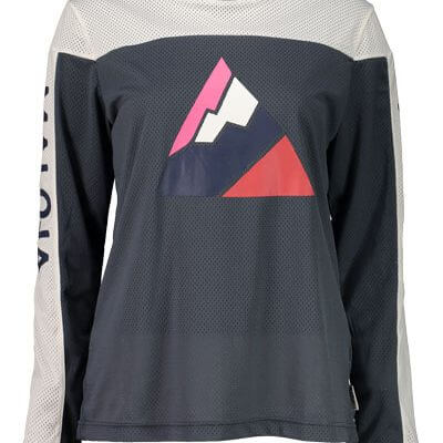 Maloja women's MTB freeride AlpenasterM long sleeve jersey waterfall
