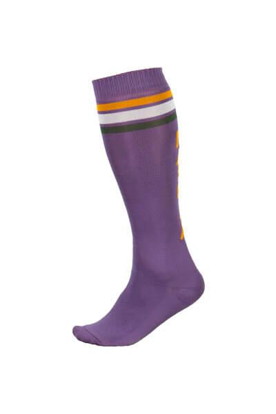 Maloja women's MTB long freeride socks GmainM plum