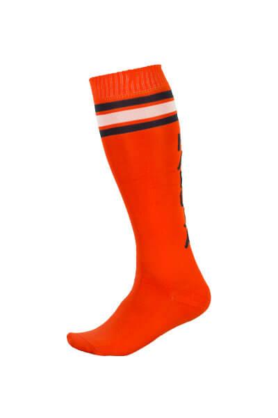 Maloja women's MTB long freeride socks GmainM red
