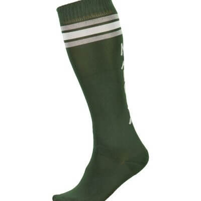Maloja women's MTB long freeride socks GmainM wood