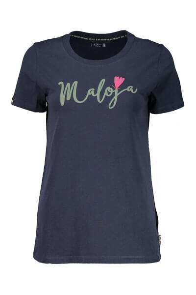 Maloja women's MTB tshirt HufeisenkleeM mountain lake