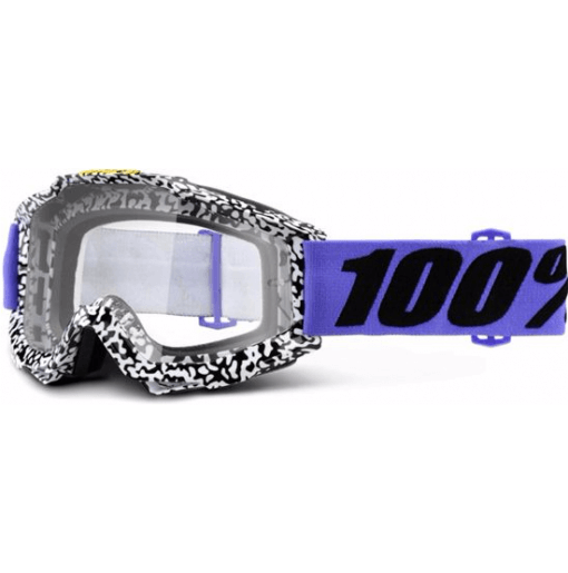 100% Accuri MTB Goggles Brentwood with clear lens