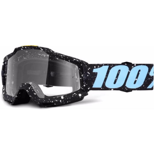 100% Accuri MTB Goggles Milkway with clear lens