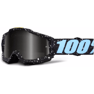 100% Accuri MTB Goggles Milkway with mirror silver lens