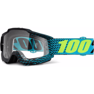 100% Accuri MTB Goggles R-Core with clear lens