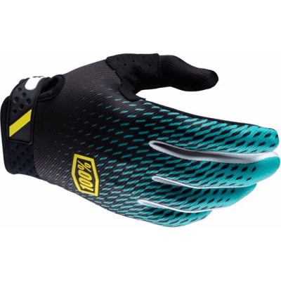 100% MTB Ridefit Glove - Super Teal