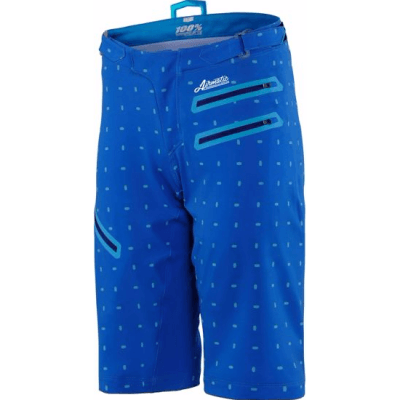 100% Women's MTB Shorts Airmatic Skylar - Royal Blue