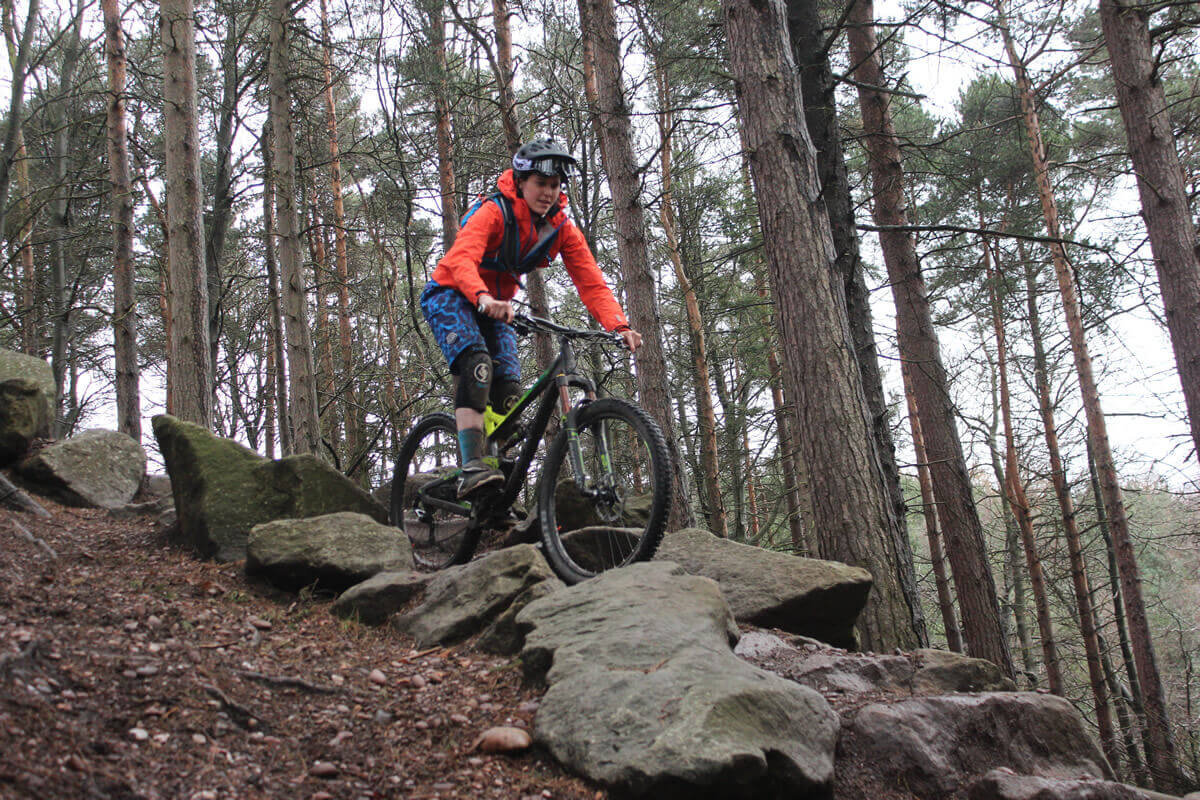 MTB Instruction - Advanced skills - Black rock gardens