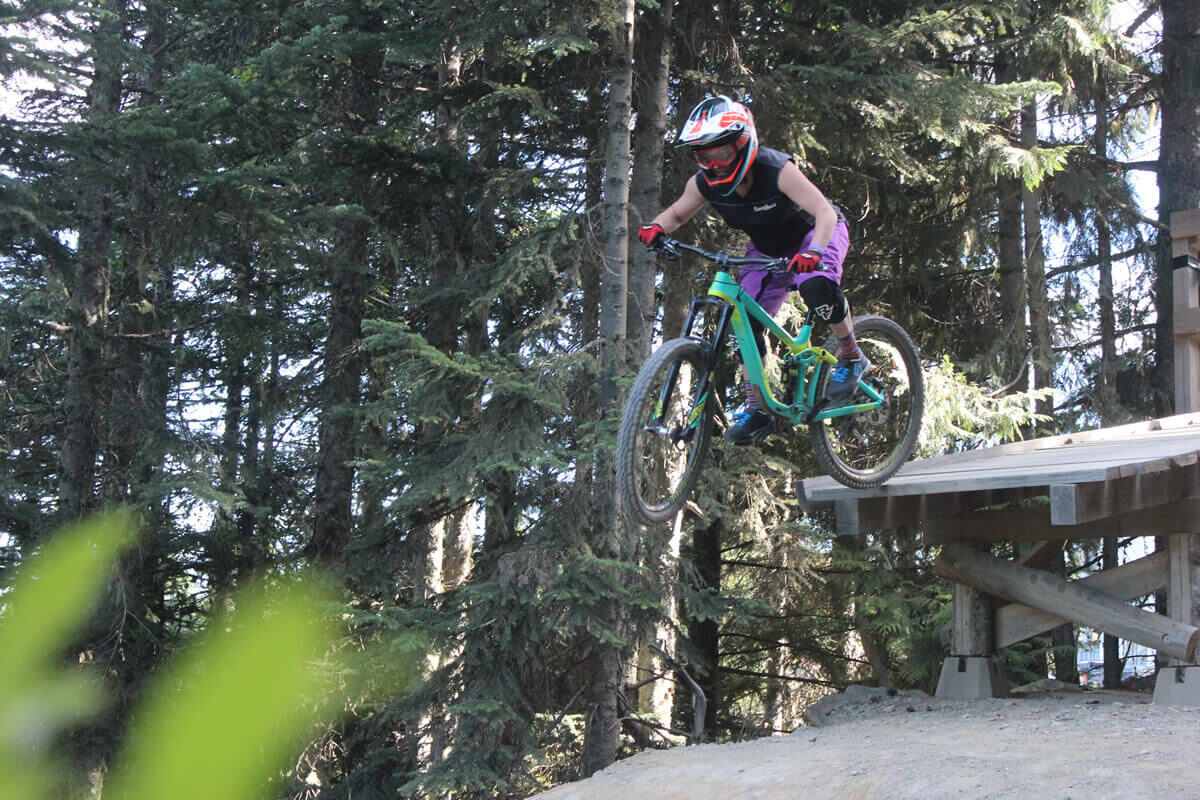 MTB Instruction - Advanced skills - drop offs