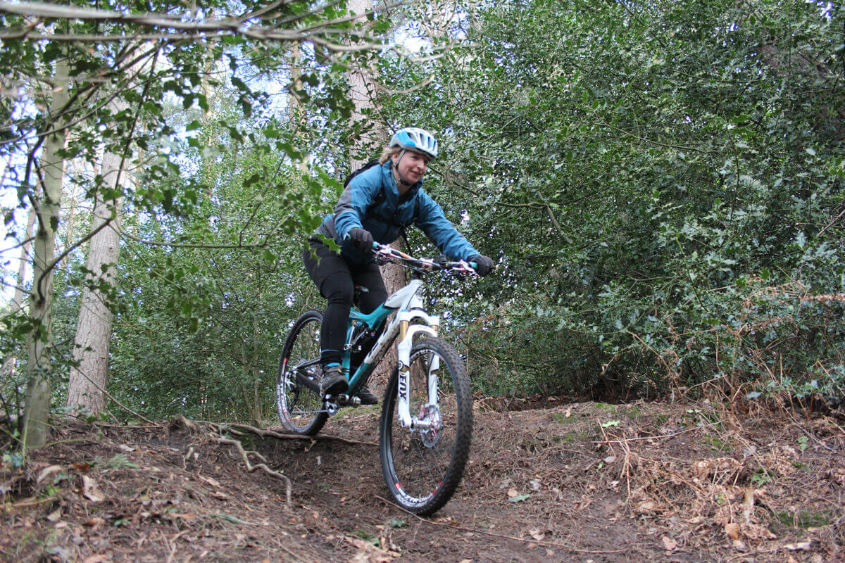 MTB Instruction - Intermediate skills - steep descents