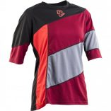 Raceface Khyber womens MTB jersey 3 quarter sleeve port and black
