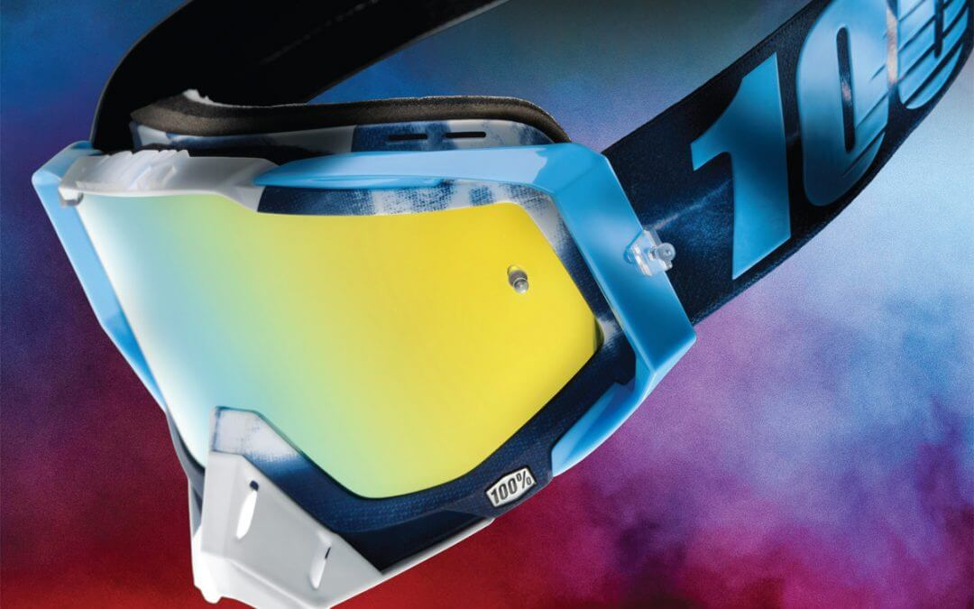 Enter our competition to WIN a pair of 100% Racecraft Tiedye Goggles