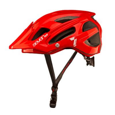 Seven Protection 7iDP M4 Red Helmet