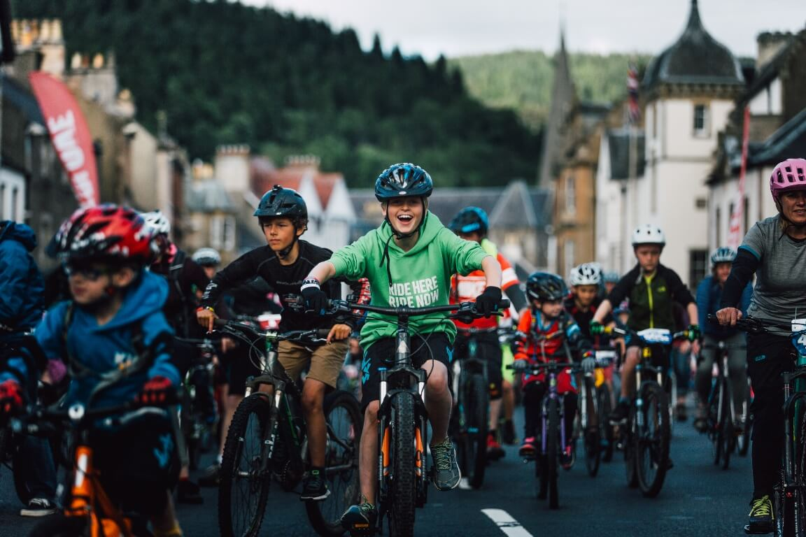 The Tweedlove festival celebrates all disciplines of the sport, for every age.