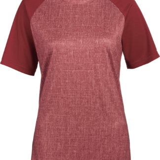 Dakine Women's MTB Dropout Short Sleeve Jersey Garnet Heather