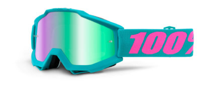 100% Accuri Goggles Passion Mirror Blue Lens