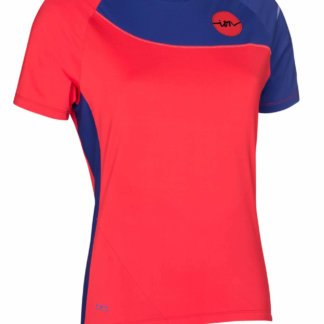 ION Women's MTB Pure Jersey - Hibiscus