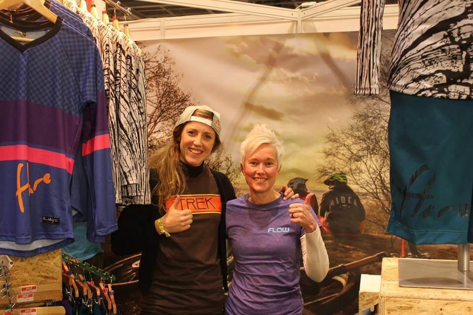 Flow MTB meet Rachel Atherton at The London Bike Show