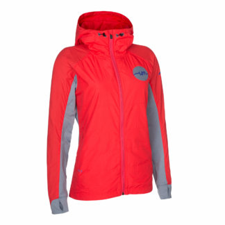 ION Women's MTB Insulation Jacket AERIAL - Hibiscus