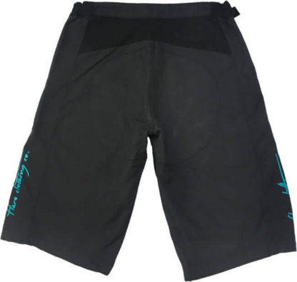 Flare Women's MTB Downhill Shorts Roost in Black - Back