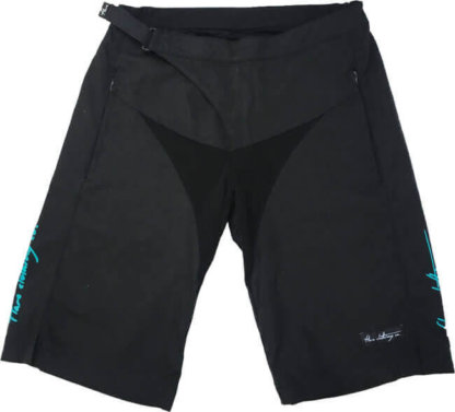 Flare Women's MTB Downhill Shorts Roost in Black - Front