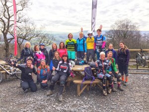 Ladies MTB Uplift Morning at Bike Park Wales