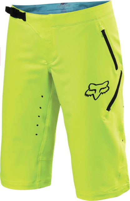 Fox Racing Women's MTB Freeride Shorts Flo Yellow