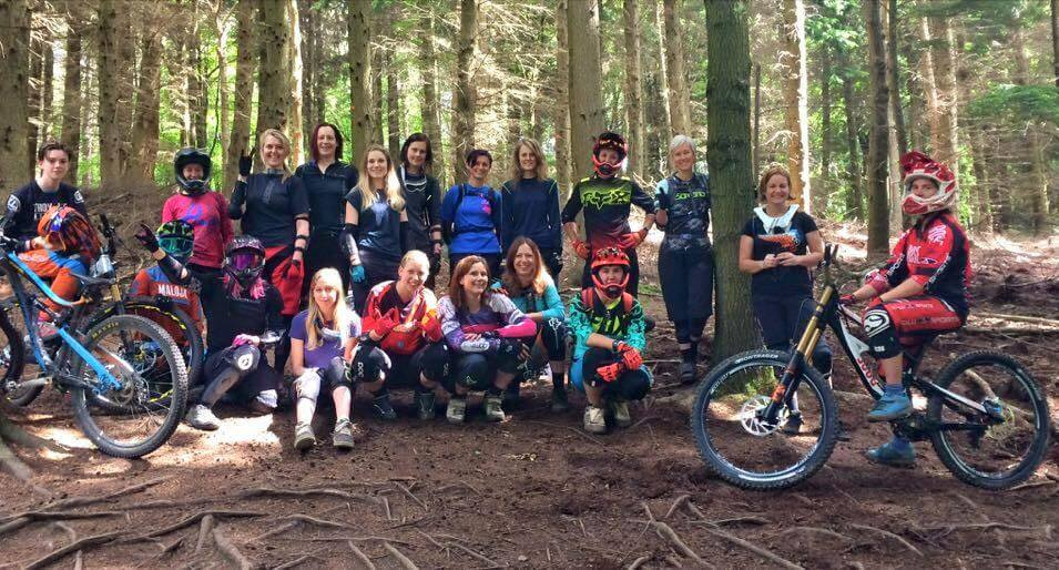 Flow MTB at Forest of Dean ladies downhill