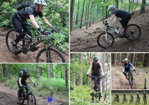 MTB Instruction and Flow MTB ladies MTB skills course