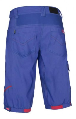 ION Nova Women's MTB Cargo Shorts Luzid - Sea Blue Melange