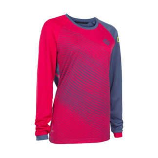 ION bike womens mtb long sleeve cycling jersey Scrub_AMP sunset pink