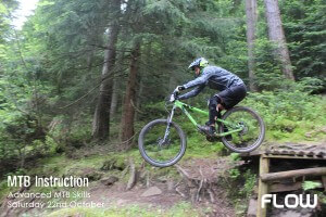 MTB Instruction and Flow MTB advanced mountain bike skills course