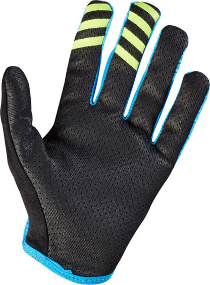 Fox Racing Womens MTB Lynx Gloves Cyan Blue