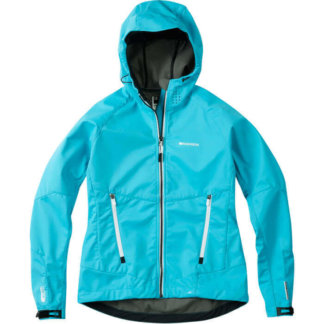 Madison Flo Womens MTB Softshell Jacket Aqua Blue