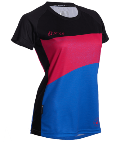 DHaRCO Women's MTB Short Sleeve Jersey – Royale Magenta